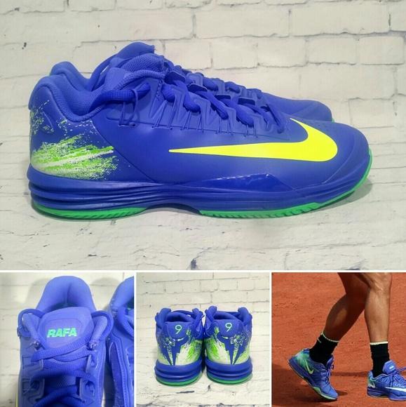 044c3d3c7736 Nike Lunar Ballistec 1.5 Rafa Nadal Tennis Shoes